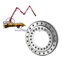 High Quality Concrete Mixing Pump Truck Usd Slewing Ring Bearing