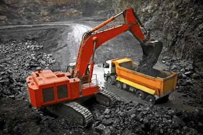 slewing bearing application in mining shovels