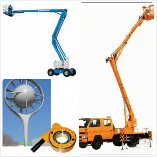 Heavy Duty XZWD Wanda Slewing Drive Used in Aerial Platform Vehicles