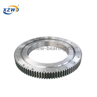 Single Row Ball Four Point Contact Ball Slewing Bearing Grease