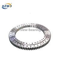 Four Point Contact Single Row Ball Slewing Bearing Ring Trailer
