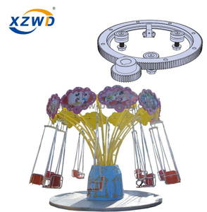 Internal Geared Light Type Ball Slewing Ring for Merry-go-round