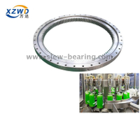 OEM Rollix Single Row Four Point Contact ball Thin sections slewing ring Bearing