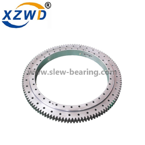 Four Point Contact Ball Slewing Bearings Ring Engine Parts Rotary Table Manufacturer