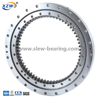 Single Row Four Point Contact Ball (01) Internal Gear Mini Excavator Use Slewing Bearing