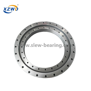 Xuzhou Wanda WD-231.20.0414 small flange slewing ring bearing with external gear