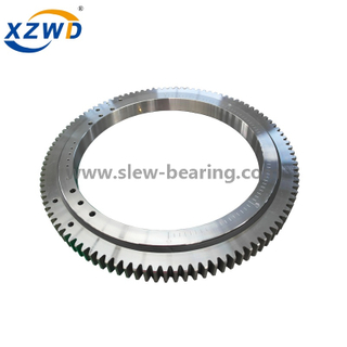 Light type external gear slewing bearing