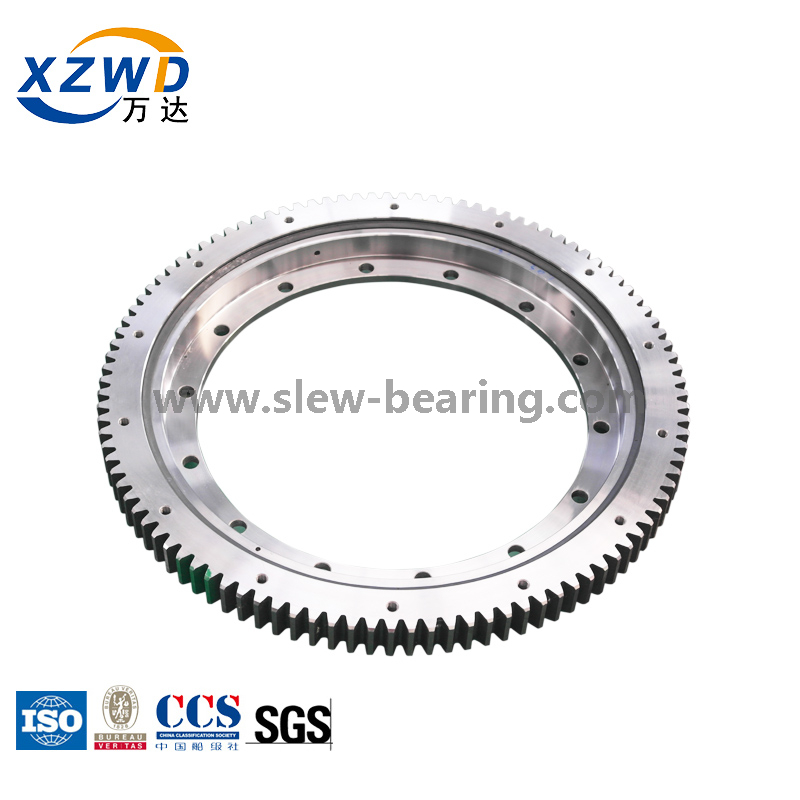 Customized Swing Four Point Contact Ball Slewing Ring Bearing for Truck Crane