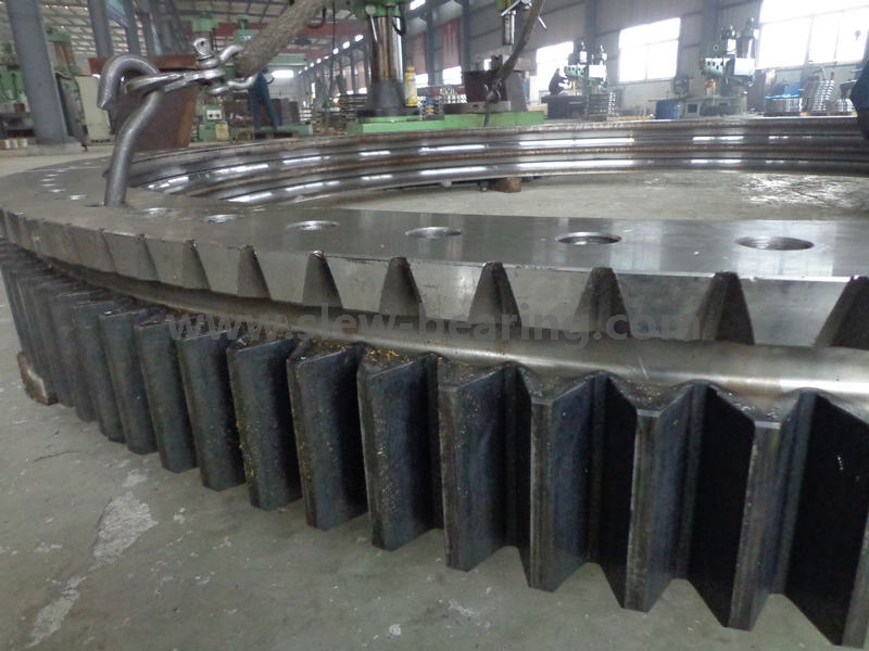 High quality of slewing bearing cage for Mining