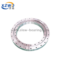 Four point contact slewing bearing for load distribution