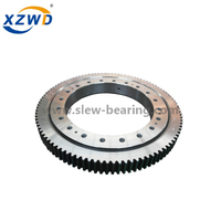 High quality small size diameter turntable slewing ring bearing with external gear for rotating machinery