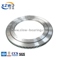 Single Row Ball Turntable Slewing Ring Bearing with External Gear for Rothe Erde Replacement