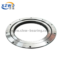 Light Internal Gear Flanged Slewing Ring Bearing for Revolving Stage