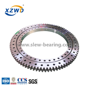 Great Quality Stocked Slewing Bearing with Outer Gear Teeth Quenched for Aerial Work Platform
