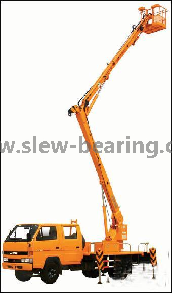 WEA 14 with hydraulic motor slewing drive used platform truck available in stock