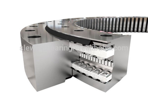 Non Geared Turret Triple Row Roller Slewing Bearing