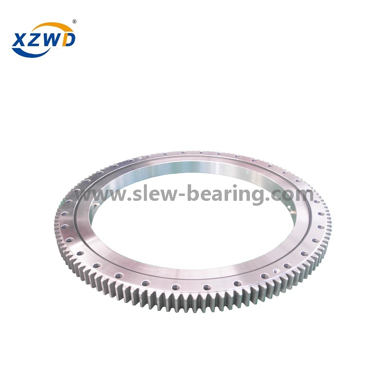 Four Point Contact Ball Geared slewing ring alternatives for Truck Crane
