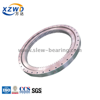 Light Type Slewing Ring Bearing with Internal Gear for Excavator
