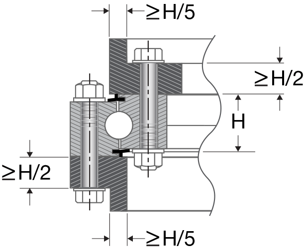 Structure of slewing ring bearing